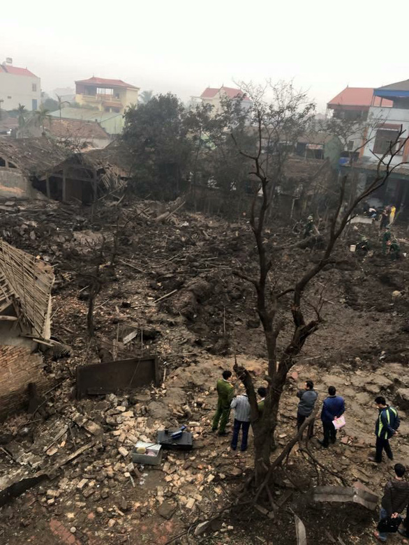 Nổ lớn kho phế liệu ở Bắc Ninh, nhiều căn nhà bị san phẳng - Ảnh 15.