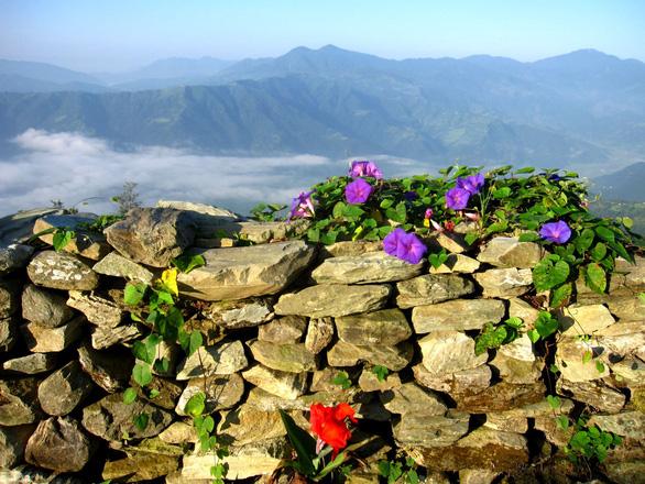 Đến Sarangkot ngắm bình minh trên dãy Himalaya - Ảnh 1.