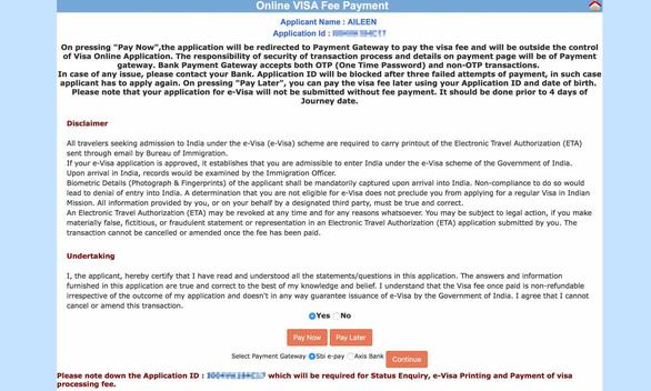 Nộp đơn xin visa Ấn Độ trực tuyến dễ thôi mà - Ảnh 2.