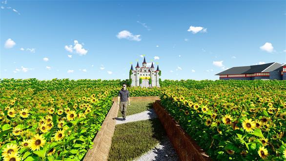 7 kỳ quan thế giới bằng hoa tươi tại Sun World Halong Complex - Ảnh 4.