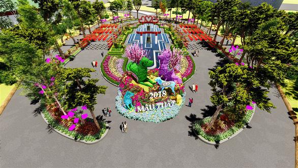 7 kỳ quan thế giới bằng hoa tươi tại Sun World Halong Complex - Ảnh 1.