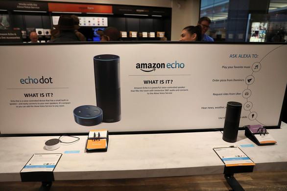 Amazon, Google giảm giá loa thông minh cạnh tranh Apple - Ảnh 1.