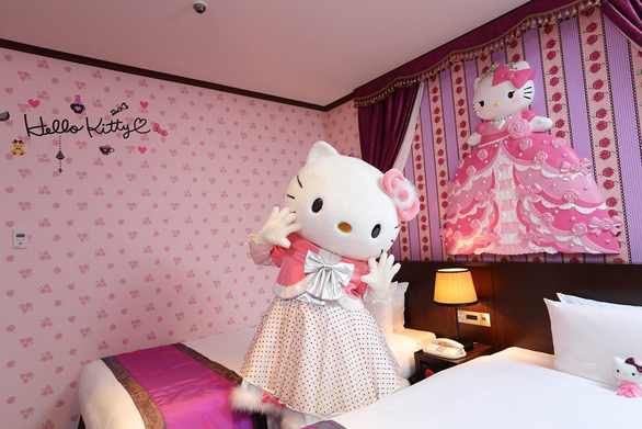 Làm công chúa trong khách sạn Hello Kitty - Ảnh 7.