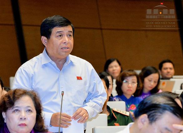 Bộ trưởng Nguyễn Chí Dũng: Quốc hội duyệt hết được 9.000 dự án đầu tư công không? - Ảnh 3.