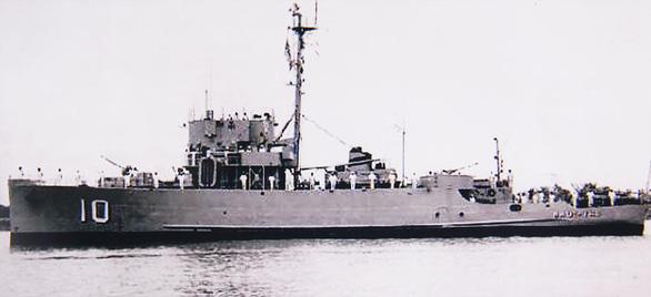 Nhật Tảo, chiến hạm bi hùng - Ảnh 1.
