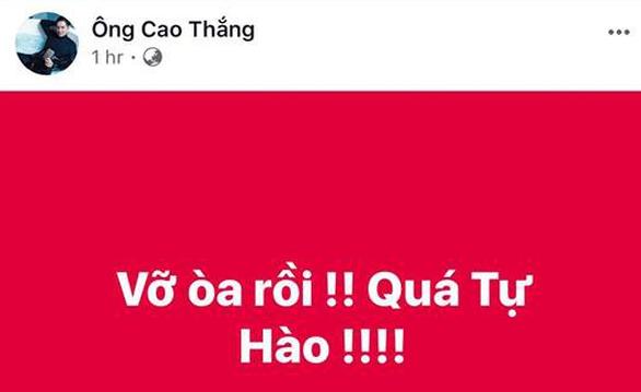 Mỹ Tâm, Đàm Vĩnh Hưng cầm cờ đi bão mừng chiến thắng U-23 VN - Ảnh 15.