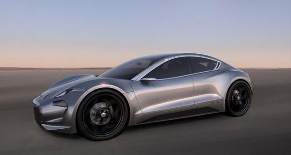 Đối thủ Tesla: Xe điện Fisker EMotion có thể sạc đầy hoàn toàn trong 1 phút - Ảnh 1.