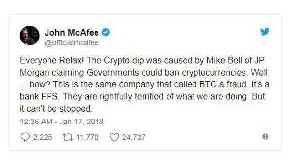 John McAfee: Tiền điện tử sẽ không chết! - Ảnh 2.