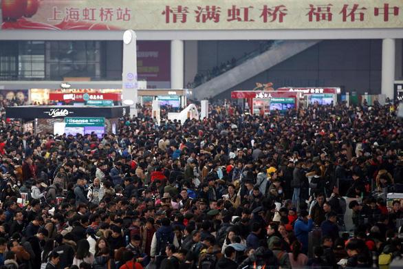 Trung Quốc ứng dụng công nghệ trong 'mùa di cư' lớn nhất - Ảnh 1.