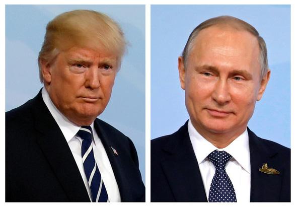 Ông Trump không đồng ý áp thêm trừng phạt với Nga - Ảnh 1.