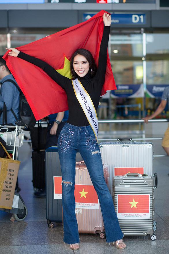 Tường Linh quyết vào top 5 Hoa hậu Liên lục địa 2017 - Ảnh 2.