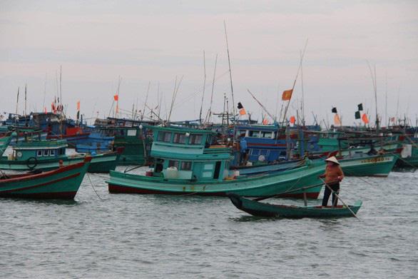 Chìm 2 tàu cá của Bà Rịa - Vũng Tàu, 13 ngư dân được cứu - Ảnh 1.