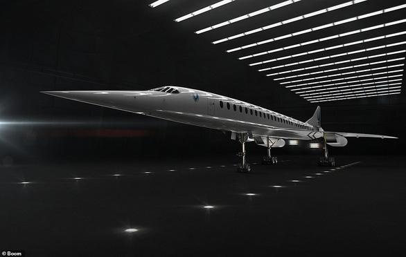 Máy bay chở khách tốc độ gấp đôi âm thanh - Ảnh 2.