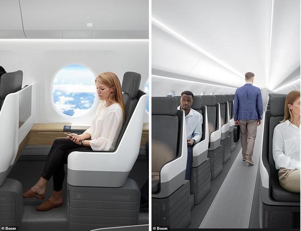 Máy bay chở khách tốc độ gấp đôi âm thanh - Ảnh 4.