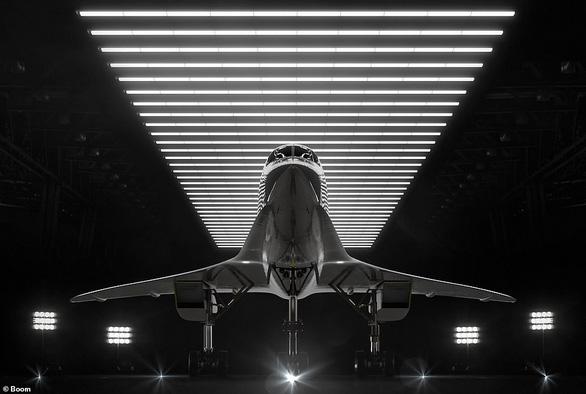 Máy bay chở khách tốc độ gấp đôi âm thanh - Ảnh 3.