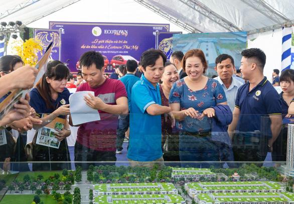 Hơn 200 khách hàng tham dự lễ giới thiệu dự án Ecotown Phú Mỹ - Ảnh 1.
