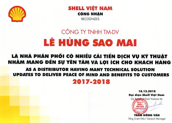 Sản phẩm dầu bánh răng thế hệ mới của Shell – Omala S2 GX - Ảnh 3.