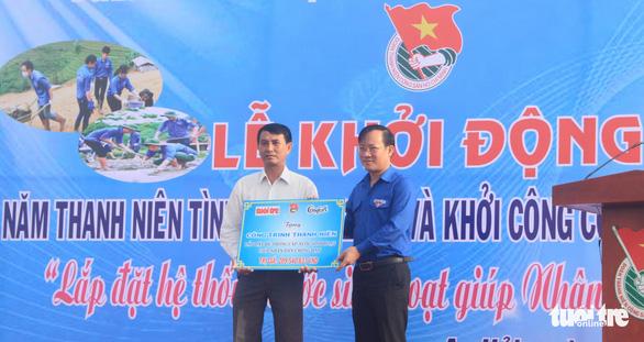 Khởi công công trình nước sạch cho dân vùng hạn Ninh Thuận - Ảnh 3.