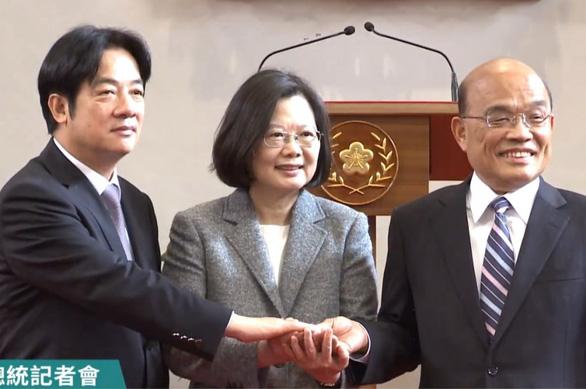 Lãnh đạo mới của hành pháp Đài Loan thừa nhận nhiệm vụ đầy khó khăn - Ảnh 1.
