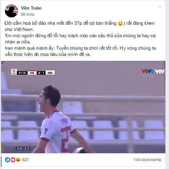 CĐV Việt Nam: Không ai trách móc các cầu thủ chúng ta - Ảnh 1.