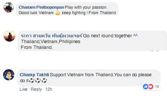 CĐV Đông Nam Á khích lệ tinh thần tuyển Việt Nam - Ảnh 2.