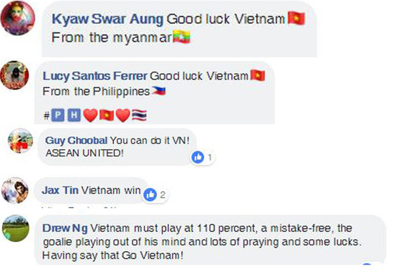 CĐV Đông Nam Á khích lệ tinh thần tuyển Việt Nam - Ảnh 3.
