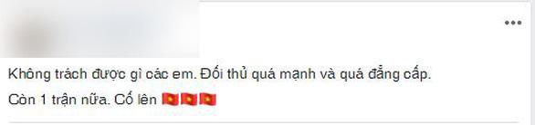 CĐV Việt Nam: Không ai trách móc các cầu thủ chúng ta - Ảnh 2.