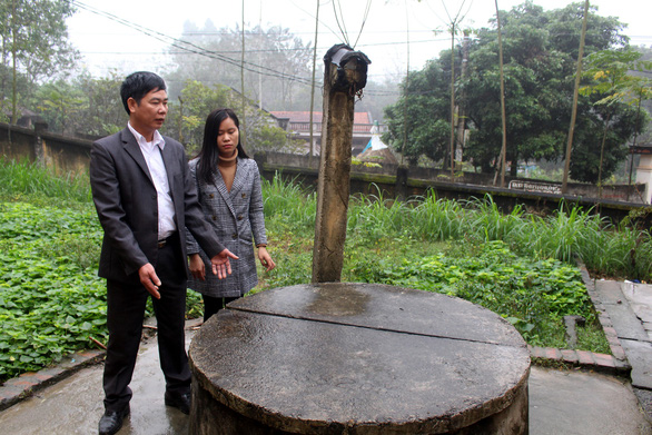 Học sinh Vĩnh Phúc hào hứng vì trường có nước sạch - Ảnh 2.