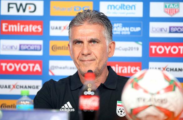 HLV Carlos Queiroz: Iran chỉ mới thi đấu 60 đến 70% khả năng - Ảnh 1.