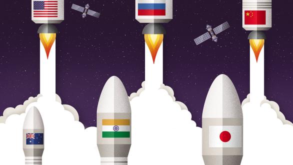 Náo động cuộc đua không gian - Ảnh 1.