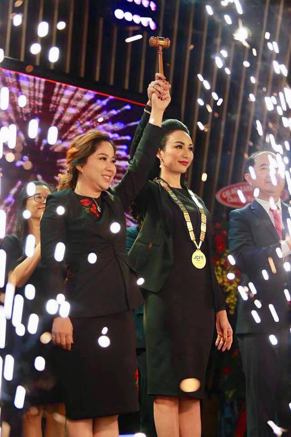 Hoa hậu Ngọc Diễm làm chủ tịch Lãnh đạo trẻ tại Việt Nam - Ảnh 1.