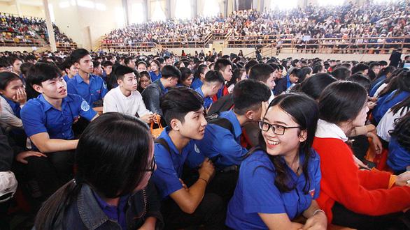Tư vấn tuyển sinh tại Huế: Học bổng, đào tạo quốc tế được quan tâm - Ảnh 1.