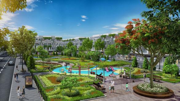 Him Lam Green Park hút khách ngày đầu ra mắt dự án - Ảnh 3.