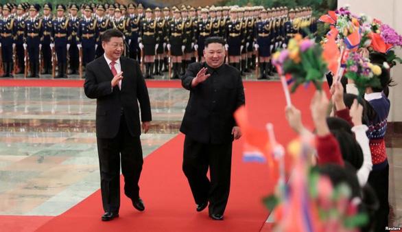 Ông Tập Cận Bình sẽ thăm Triều Tiên lần đầu vào tháng 4? - Ảnh 1.
