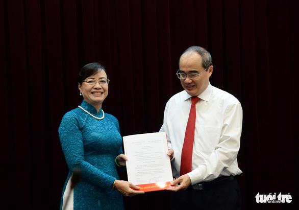 Bà Nguyễn Thị Quyết Tâm nghỉ hưu: 'Tôi đã chuẩn bị mấy năm nay rồi' - Ảnh 1.