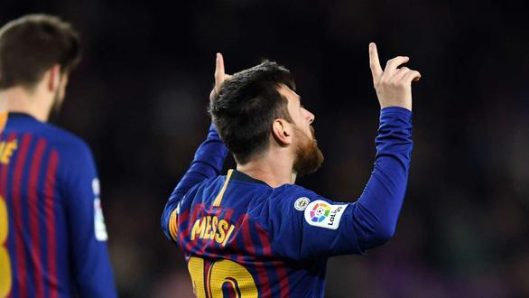 Messi trở thành ông 400 ở La Liga - Ảnh 2.