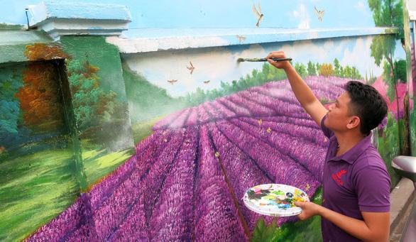Phố chuyên doanh hoa và ẩm thực Hồ Thị Kỷ hiện dần lên rực rỡ - Ảnh 1.