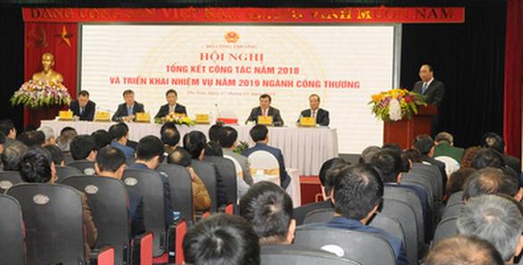 Thủ tướng nhắc Bộ Công Thương về trách nhiệm nêu gương của lãnh đạo - Ảnh 1.