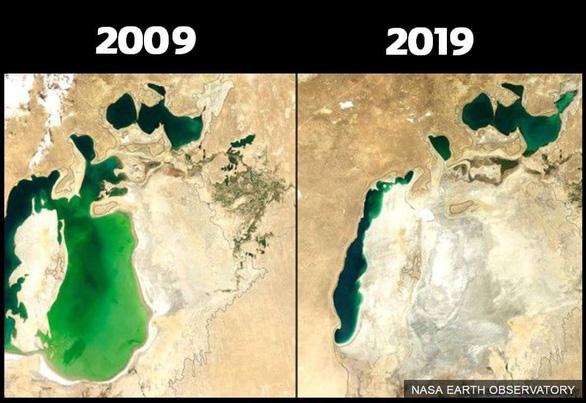#10yearschallenge: Thiên nhiên đã mất đi thế nào trong 10 năm qua? - Ảnh 6.