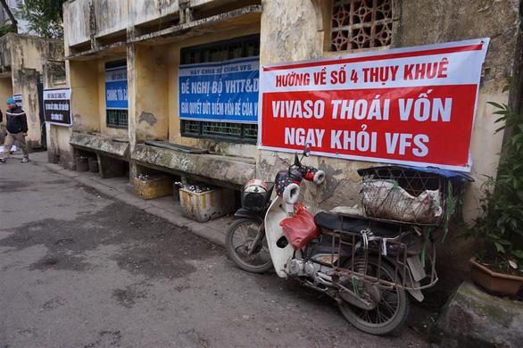 Nghệ sĩ Hãng phim truyện Việt Nam giăng khẩu hiệu đuổi VIVASO - Ảnh 5.