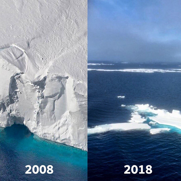 #10yearschallenge: Thiên nhiên đã mất đi thế nào trong 10 năm qua? - Ảnh 1.