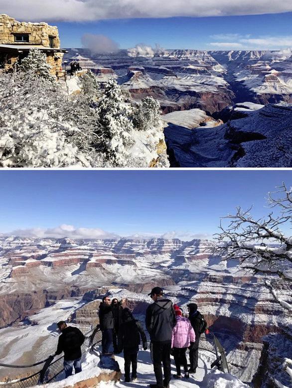 Ngắm hai thái cực của mẹ thiên nhiên: tuyết rơi sa mạc - Ảnh 9.