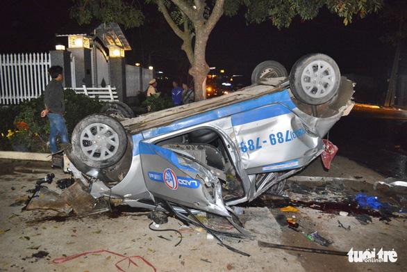 Tài xế taxi có dấu hiệu say rượu tông chết 3 người - Ảnh 1.