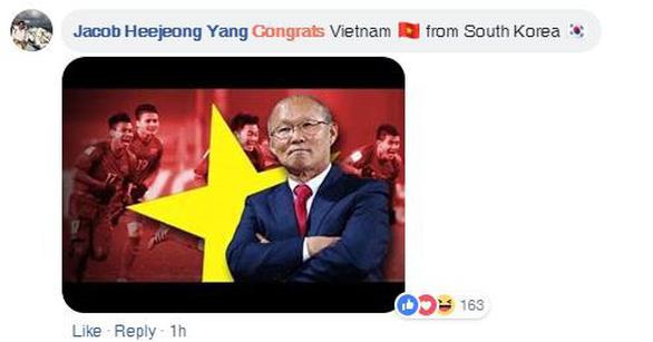 CĐV châu Á chúc mừng Việt Nam, tiếc cho Thái Lan - Ảnh 2.