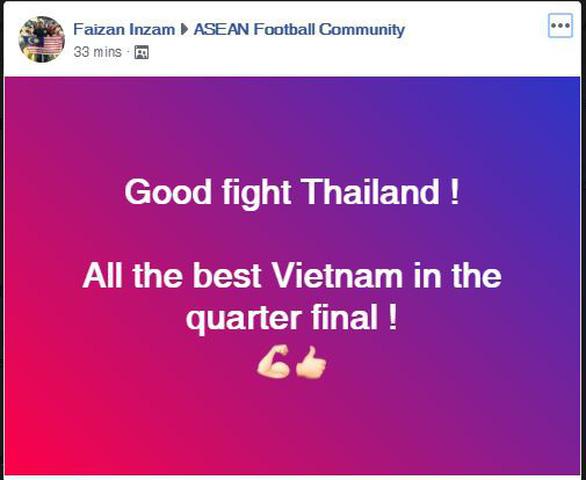 CĐV châu Á chúc mừng Việt Nam, tiếc cho Thái Lan - Ảnh 5.