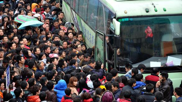 Ngày mai bắt đầu cuộc 'Xuân vận' của gần 3 tỉ lượt người Trung Quốc - Ảnh 2.