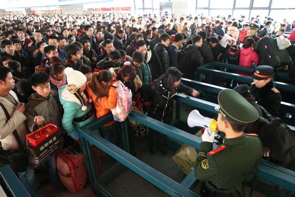 Ngày mai bắt đầu cuộc 'Xuân vận' của gần 3 tỉ lượt người Trung Quốc - Ảnh 3.