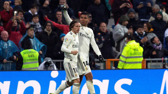 Modric lập công đưa Real Madrid vươn lên xếp thứ 3 - Ảnh 2.