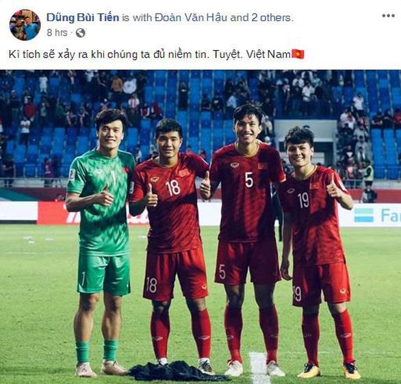 Cầu thủ Việt Nam trải lòng trên Facebook sau chiến thắng trước Jordan - Ảnh 7.