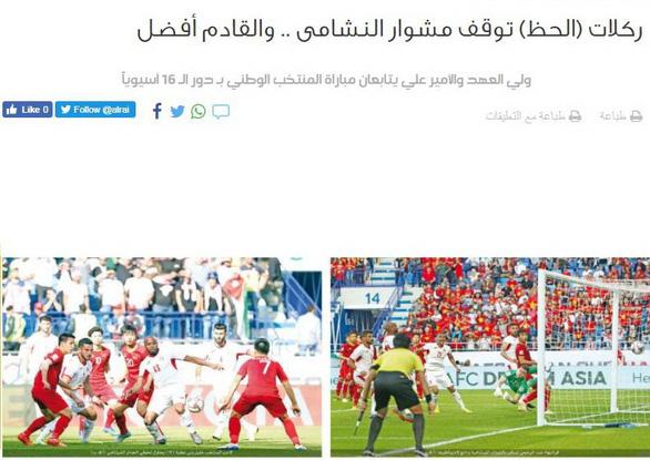 Báo chí Jordan: Việt Nam - thế lực mới nổi của bóng đá châu Á - Ảnh 1.